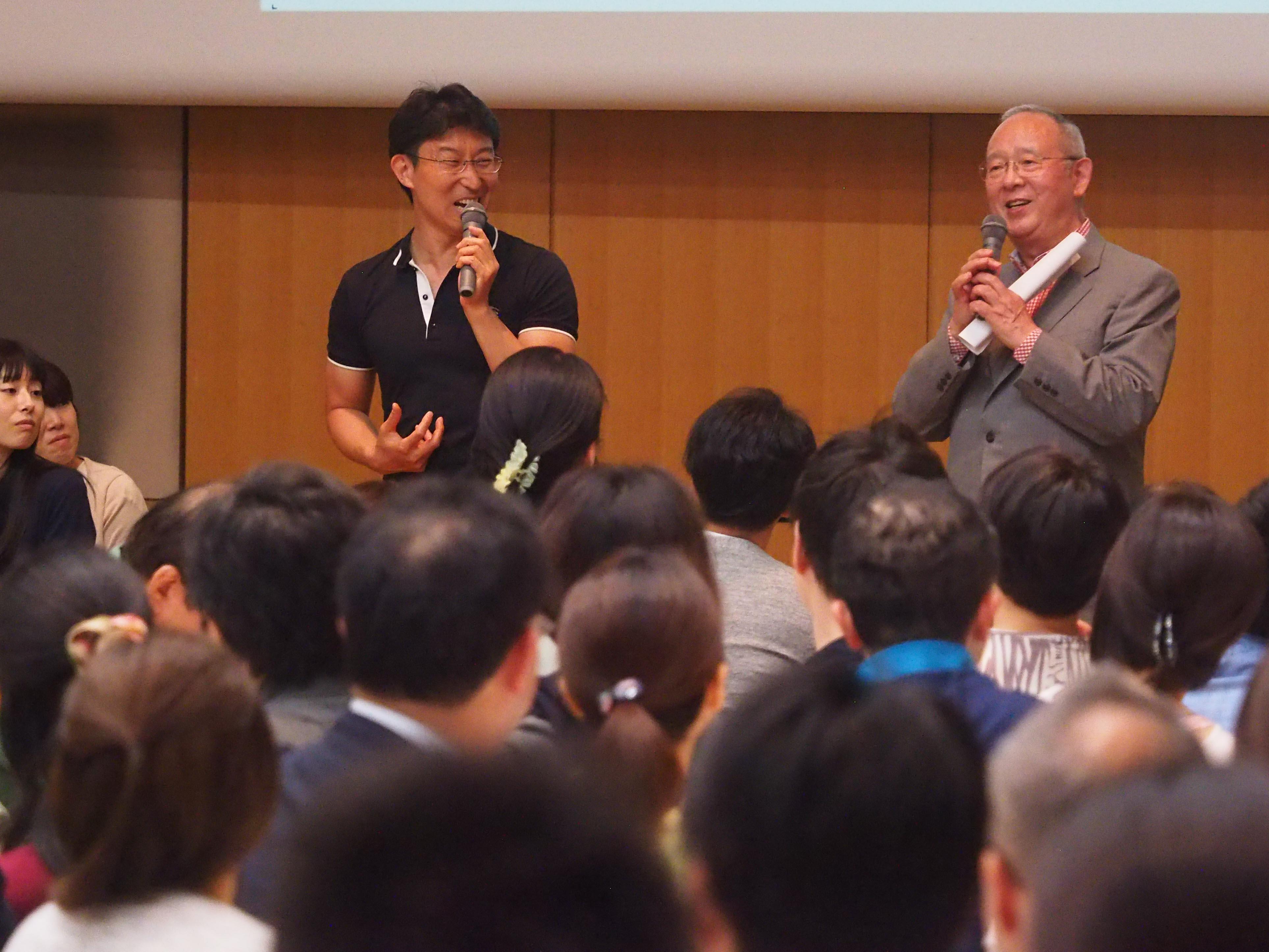 杉田敏先生(NHKラジオ・ビジネス英語)、小田康之(Vital Japan)