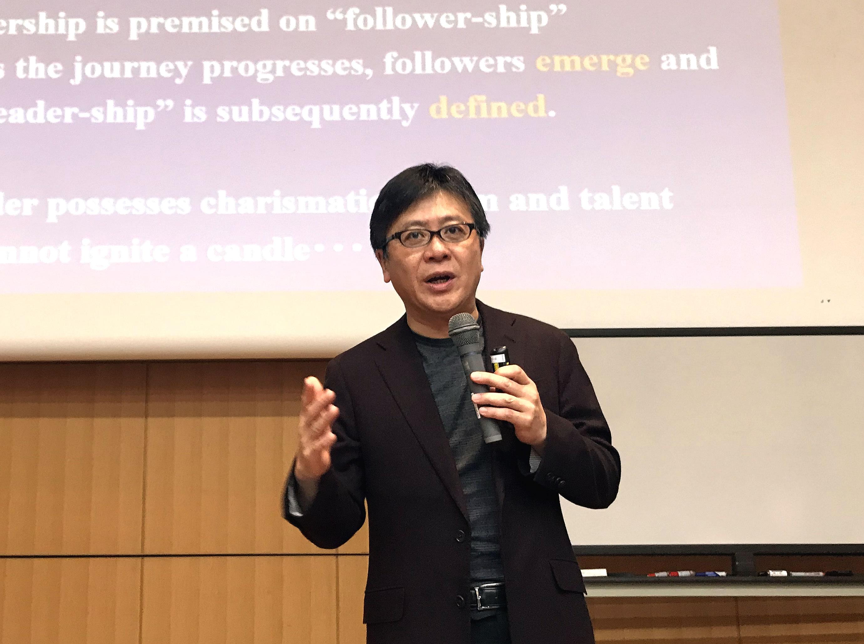 20171125VitalJapan MBAを超えて 野田 智義 さん Dr. Tomoyoshi NODA