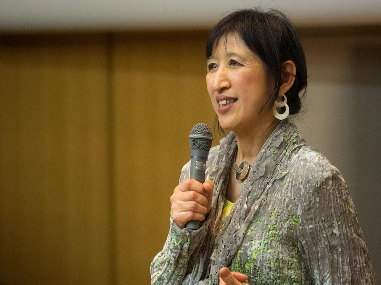 中元 三千代 さん Michiyo NAKAMOTO(フィナンシャル・タイムズ紙 元東京副支局長) Financial Times: Vital Japan